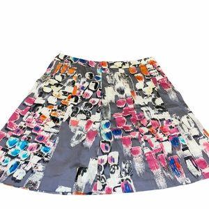 NWT LANE BRYANT Graphic Print A Line Skirt Size 20